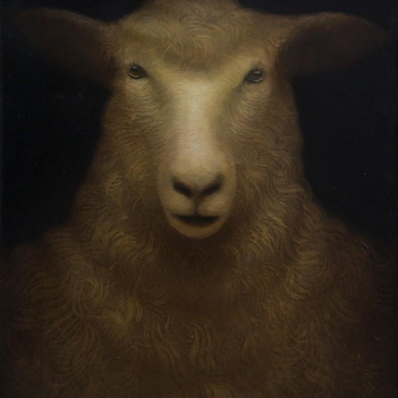Portret87, 50x40cm, olej na plátne, 2014