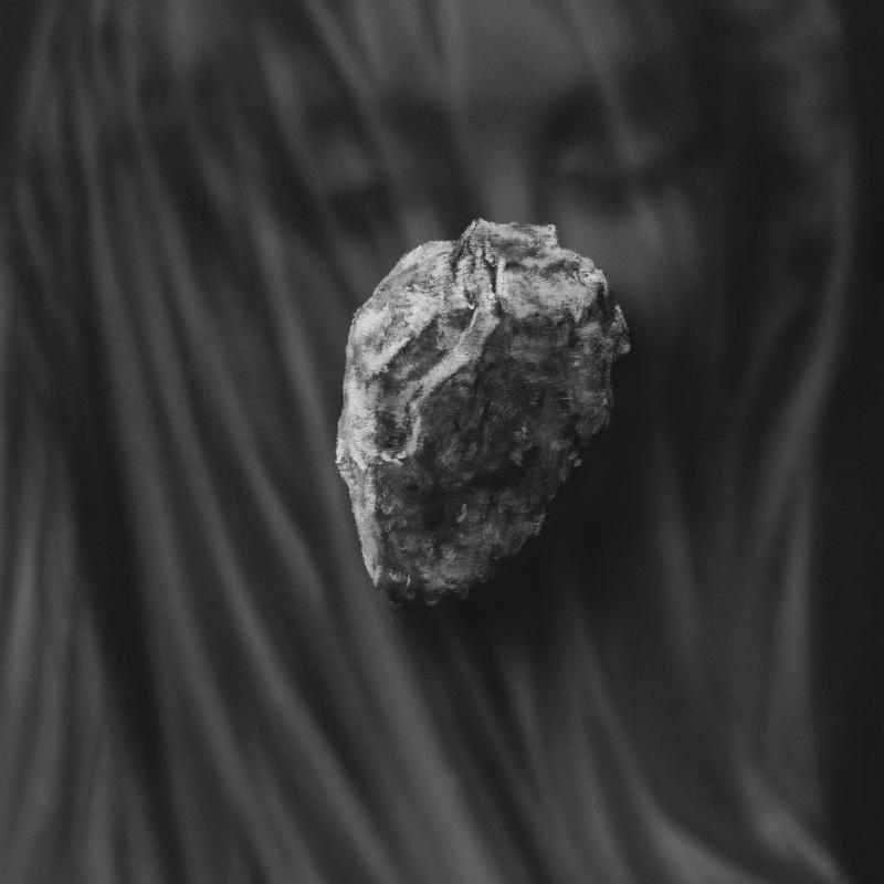 Kamene 21, 50x40cm, olej a akryl na plátne, 2020