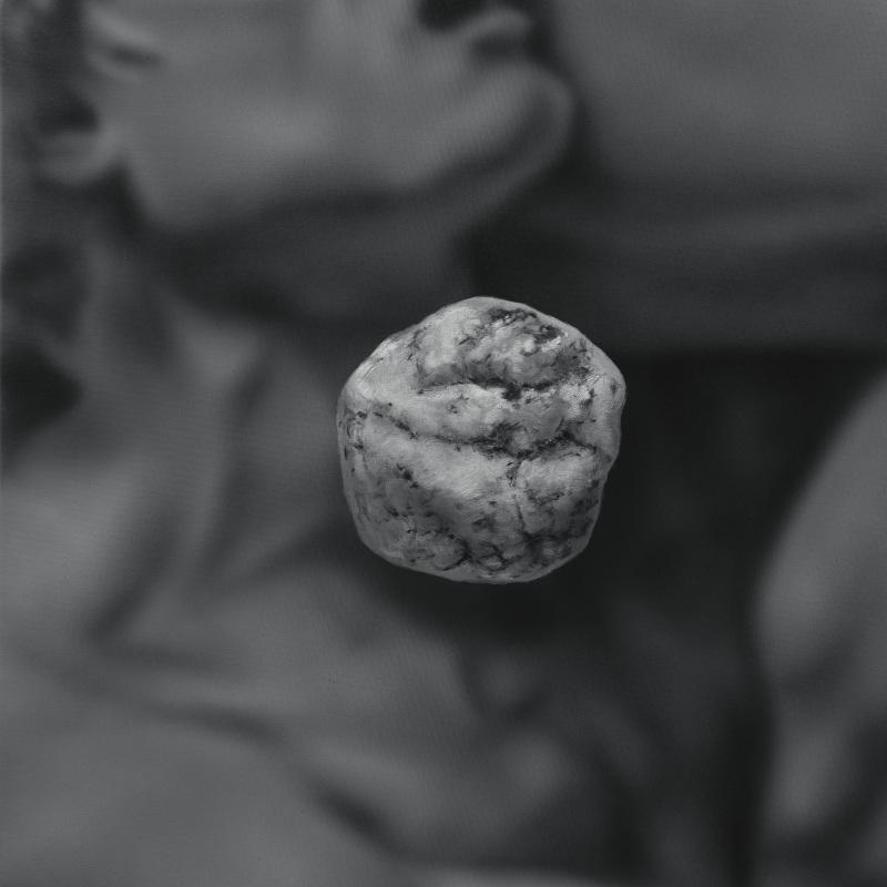 Kamene 20, 50x40cm, olej a akryl na plátne, 2020