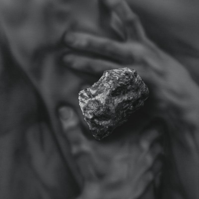 Kamene 19, 50x40cm, olej a akryl na plátne, 2020