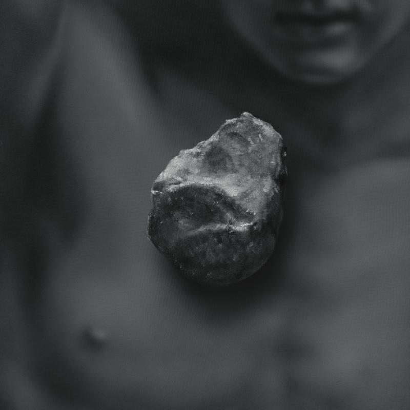 Kamene 17, 50x40cm, olej a akryl na plátne, 2020