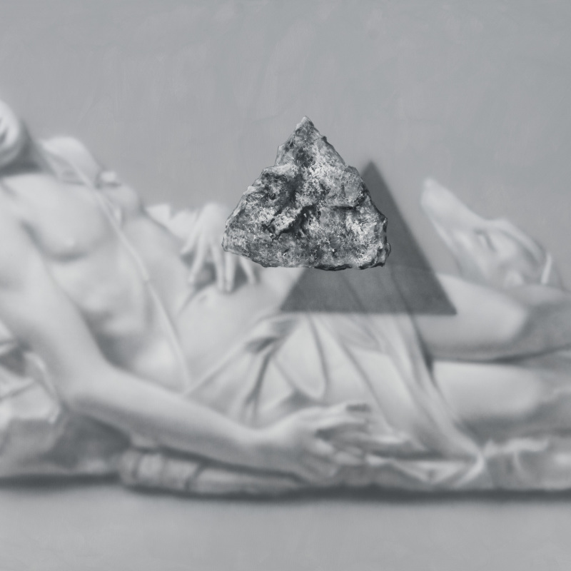 Kamene 27, 140x170cm, olej a akryl na plátne, 2020