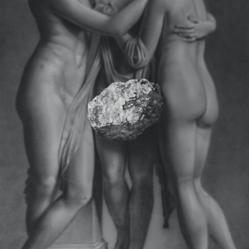 Kamene 7, 140x190cm, olej a akryl na plátne, 2020