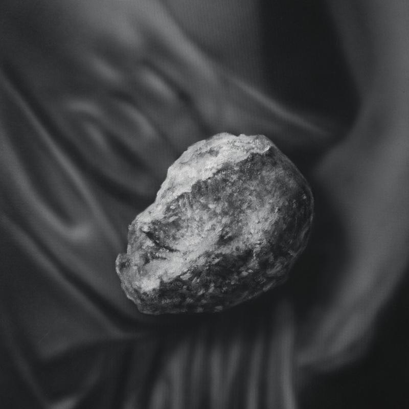 Kamene 16, 50x40cm, olej a akryl na plátne, 2020