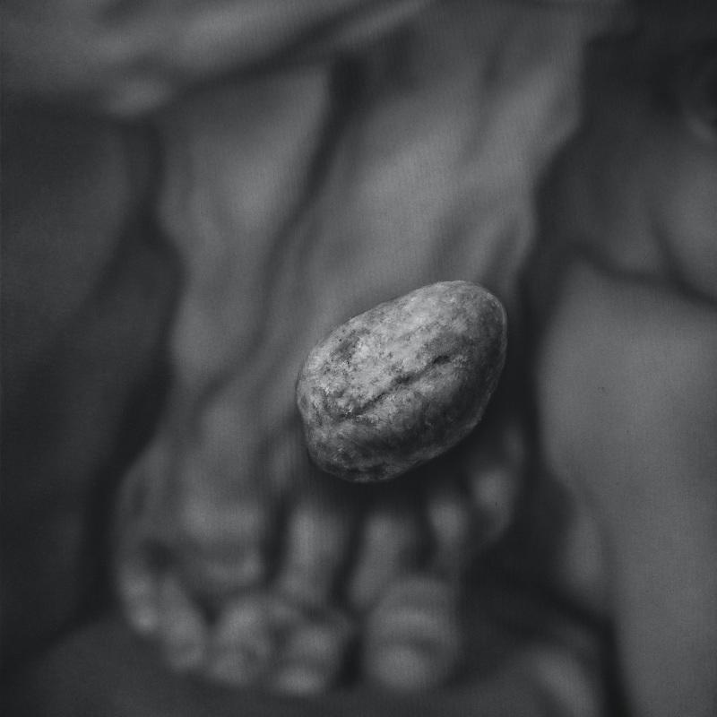 Kamene 10, 50x40cm, olej a akryl na plátne, 2020