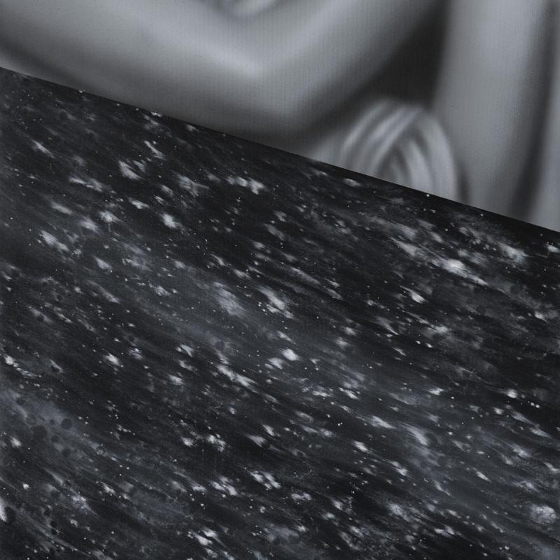 Kamene 30, 50x40cm, olej a akryl na plátne, 2020