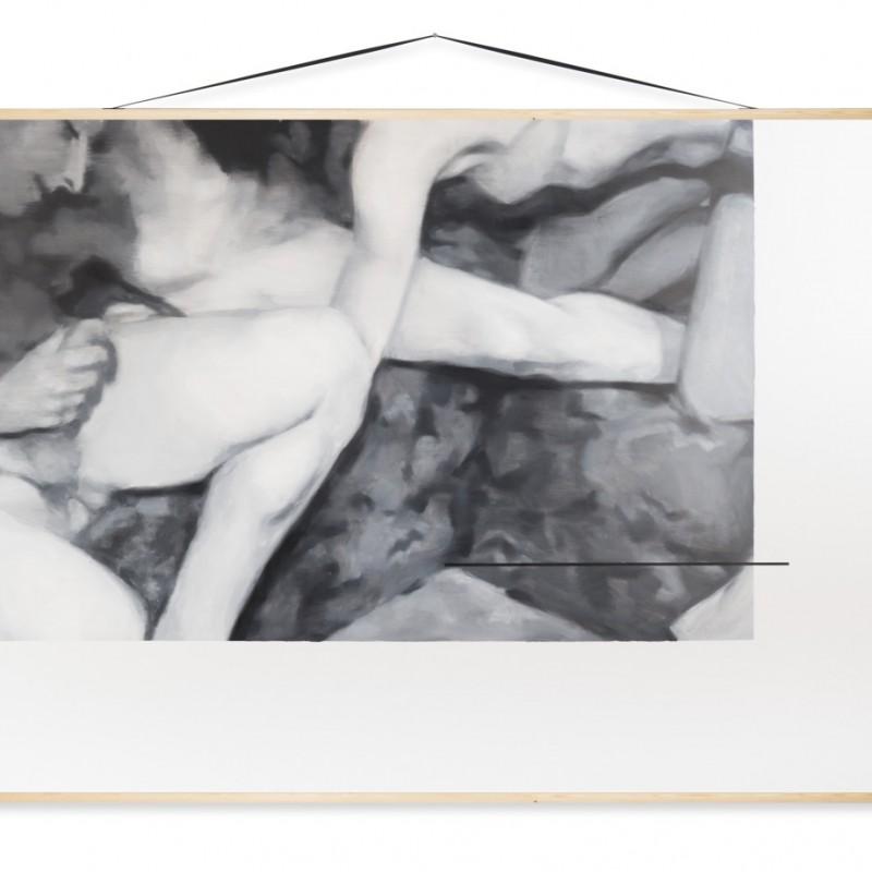 Edukácia 1, 150x200cm, olej na plátne, 2014