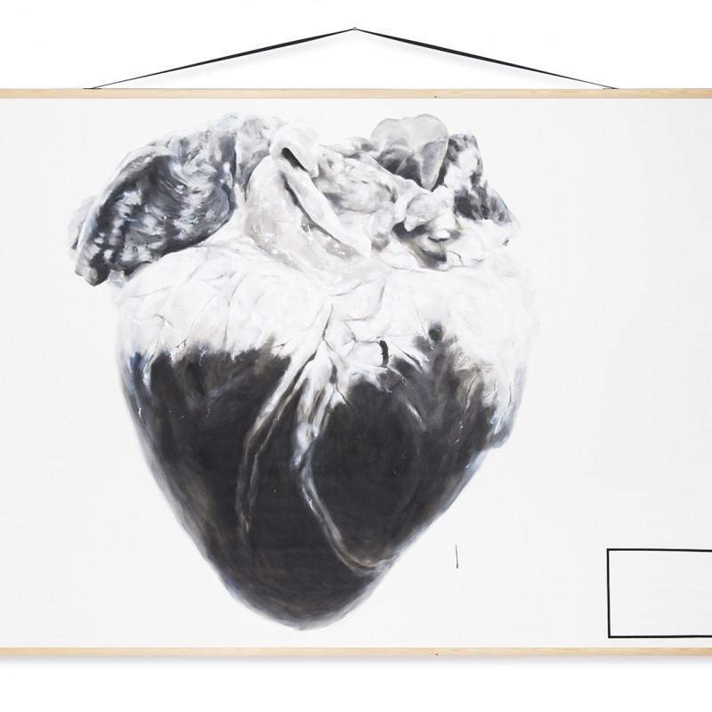 Edukácia 1, 150x200cmcm, olej na plátne, 2014
