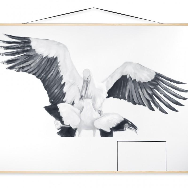 Edukácia 7, 150x200cm, olej na plátne, 2015