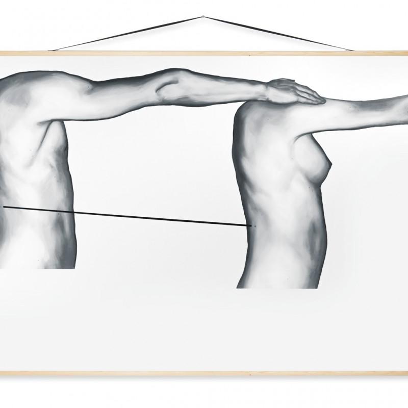 Edukácia 9, 150x200cm, olej na plátne, 2015